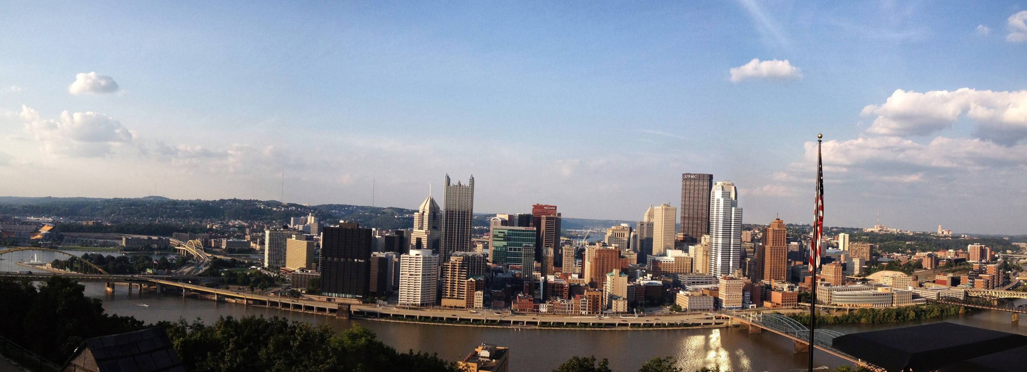 Image of downtown Pittsburgh